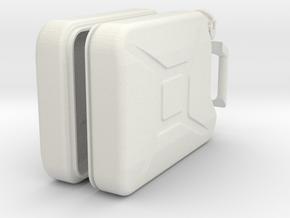 Blechkanister 1:8 in White Natural Versatile Plastic