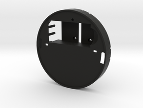 Yingyang smoke detector (midsection) in Black Strong & Flexible