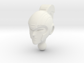 ARIEL homage Cyrene Head for RID Arcee in White Natural Versatile Plastic