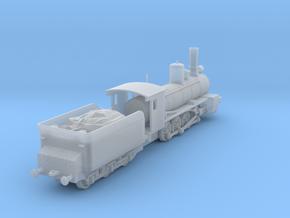 1/100 (15mm wargame) Soviet Ov class Steam Locomot in Smooth Fine Detail Plastic