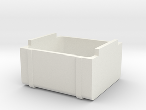 5-ACHSER_TANK in White Natural Versatile Plastic
