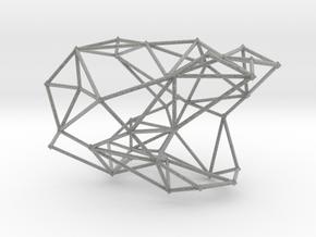 WEB BANGLE in Metallic Plastic