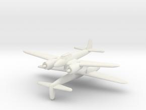 """1/300 Nakajima J1N1 S Gekko """"Irving"""" in White Natural Versatile Plastic"""