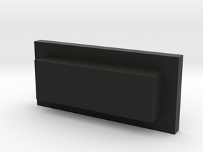 WSB-PC-01 in Black Natural Versatile Plastic