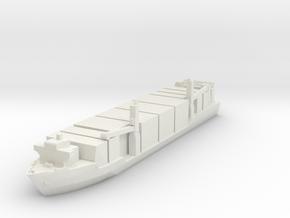 Singapore Tech. 400TEU Container Ship 1:2400 in White Natural Versatile Plastic