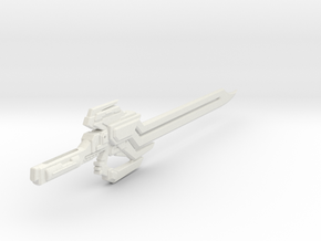 TFP Dreadwing's Big Blade (no peg) in White Strong & Flexible