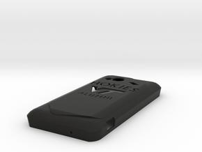 Hokies Icredible 4G LTE Case in Black Natural Versatile Plastic