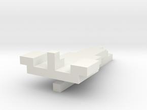 paper plane  in White Natural Versatile Plastic