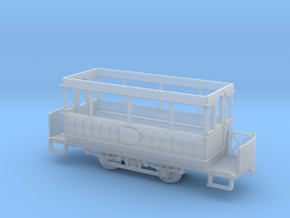 OO scale Giant's Causeway tram 2 static in Smooth Fine Detail Plastic