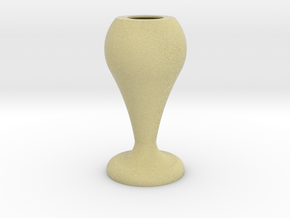 Flower Vase_8 in Full Color Sandstone