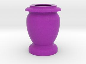 Flower Vase_9 in Full Color Sandstone
