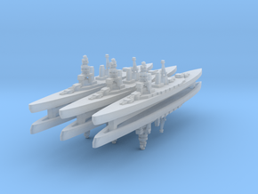 Amagi (BC) 1:6000 x6 in Smooth Fine Detail Plastic