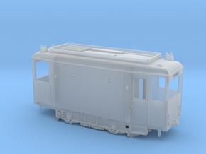 Tram Leipzig ATW 5092 Schleifwagen (1:87) H0 in Smooth Fine Detail Plastic