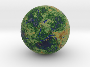 Planet01meshed07 Letsgo in Full Color Sandstone