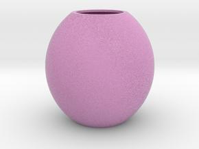 Ikebana Vase_1 in Full Color Sandstone