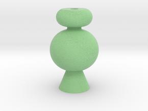 IkebanaVase-4 in Full Color Sandstone