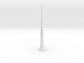 Alto shawm in White Natural Versatile Plastic