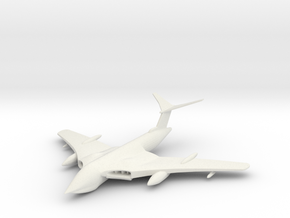 1/285 (6mm)  Handley Page Victor Bomber in White Natural Versatile Plastic