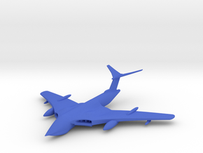1/285 (6mm)  Handley Page Victor Bomber in Blue Strong & Flexible Polished