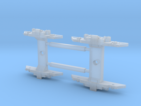 4000 trucks for N in Smooth Fine Detail Plastic