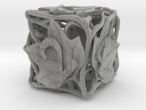 Botanical Die6 (Tulip Tree) in Metallic Plastic
