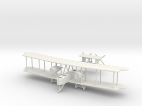 1/144 Vickers Vimy in White Natural Versatile Plastic