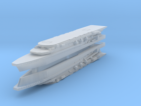 Kaga (1930) 1:4800 x2 in Smooth Fine Detail Plastic