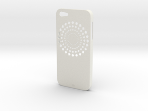 iPhone 5 FLWR Case in White Natural Versatile Plastic