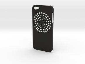 iPhone 5 FLWR Case in Black Strong & Flexible