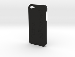 iPhone 5 Think Case in Black Strong & Flexible