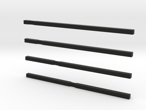 notched bars in Black Strong & Flexible