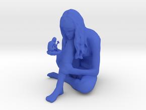 Through a Mirror Brightly in Blue Processed Versatile Plastic