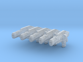 advanced thermal laser rifle 002a generic in Smooth Fine Detail Plastic