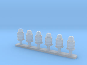 1/35 connectors part 2 in Smooth Fine Detail Plastic
