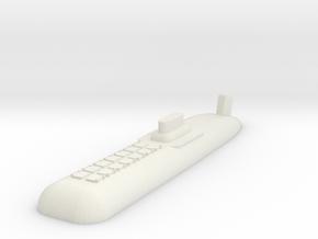Typhoon Class SSBN 1:1800 x1 in White Natural Versatile Plastic