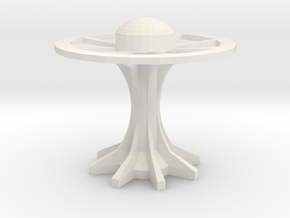 disk arcology or space station4 in White Natural Versatile Plastic