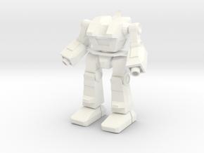 SkipJack Assault Mech: Mobile Infantry in White Processed Versatile Plastic