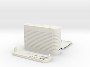GPS logger case in White Strong & Flexible