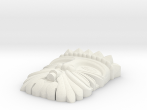 mask 99 Cannelle - L'Aquila in White Natural Versatile Plastic