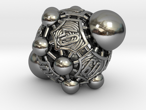 Nucleus D00 in Polished Silver