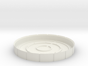 Arc Reactor #2 A in White Natural Versatile Plastic