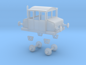 TT Scale Skifte Tractor  in Smooth Fine Detail Plastic