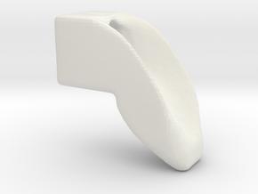 smooth dogleg in White Natural Versatile Plastic