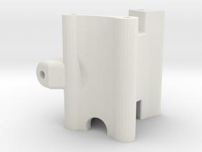 BP8 V2 Swing Arm Spacer in White Natural Versatile Plastic