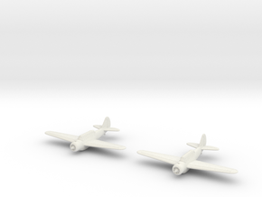 1/200 North American O-47 (x2) in White Natural Versatile Plastic