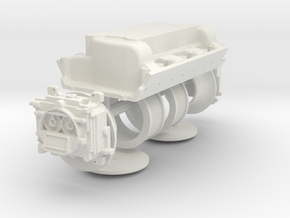 1/8 426 Hemi Dual Quad Intake Kit in White Strong & Flexible