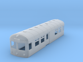 British Railways Wickham Railbus Body (N Gauge) in Smooth Fine Detail Plastic