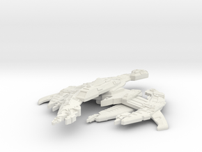 Breen Ship in White Natural Versatile Plastic