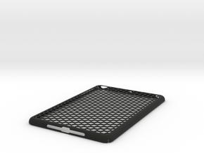 Honey Comb iPad Mini Case in Black Strong & Flexible