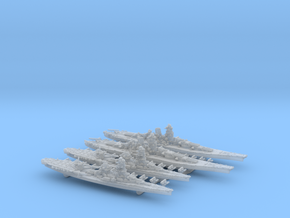 WWII IJN Late-war BB Yamato & BBCV Ise in Frosted Ultra Detail: 1:4800
